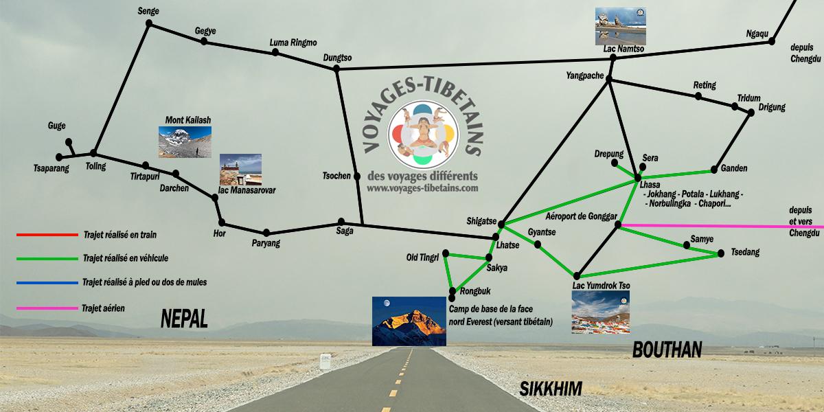 carte tibet circuit lhasa cbe