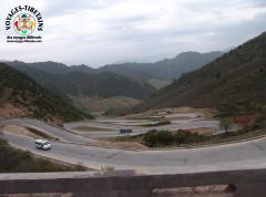 Vue sur la Tibet Qinghai Highway