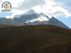 Panorama depuis le train rejoignant Lhasa