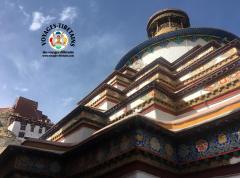 Le Kumbum de Gyantse, imposant et magnifique...