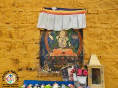 Autel pour Manjushri